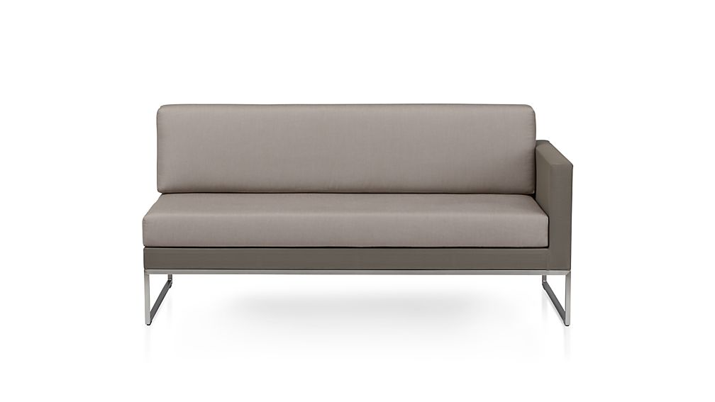 Dune Right Arm Loveseat with Cushions