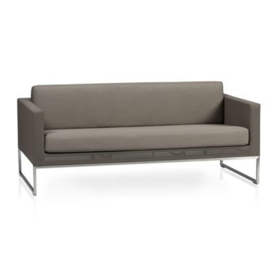 Dune Sofa with Sunbrella® Taupe Cushion