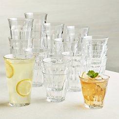 Duralex ® Picardie Glass Tumblers Set of 18