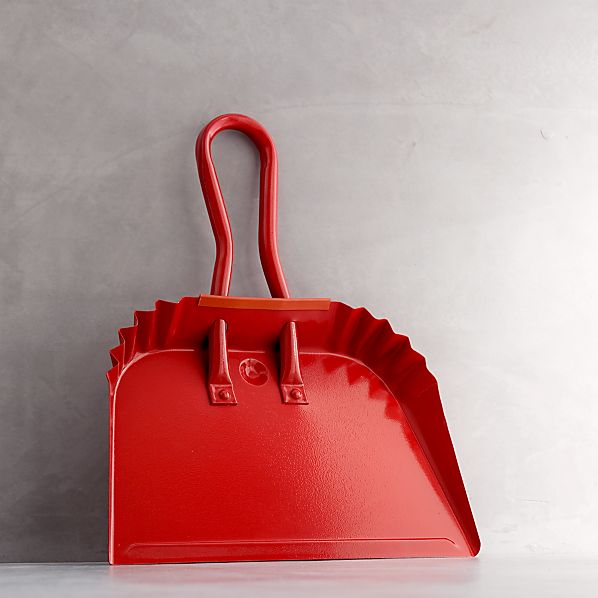 Red Dustpan