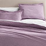 Dylan Purple Twin Duvet Cover