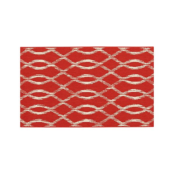 Dyna Coral Indoor-Outdoor 3'x5' Rug