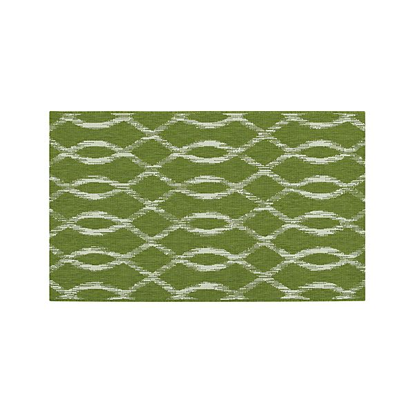 Dyna Green Indoor-Outdoor 3'x5' Rug