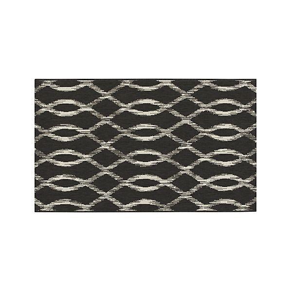 Dyna Grey Indoor-Outdoor 3'x5' Rug