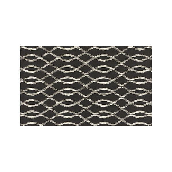 Dyna Grey Indoor-Outdoor 5'x8' Rug