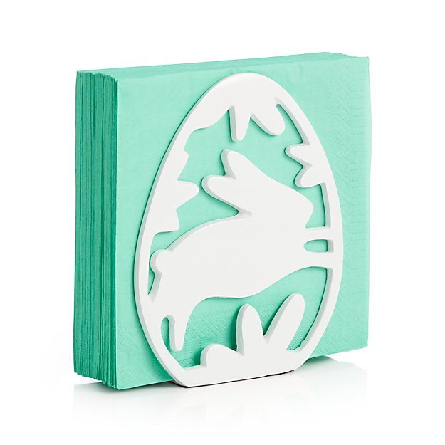 Easter Bunny Napkin Holder Crate and Barrel : easter bunny napkin holder from crateandbarrel.com size 625 x 625 jpeg 31kB