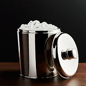 Easton Double-Walled Stainless Steel Ice Bucket