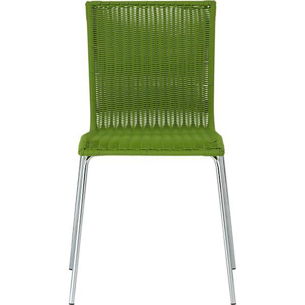 Kitchenette Green Stack Chair