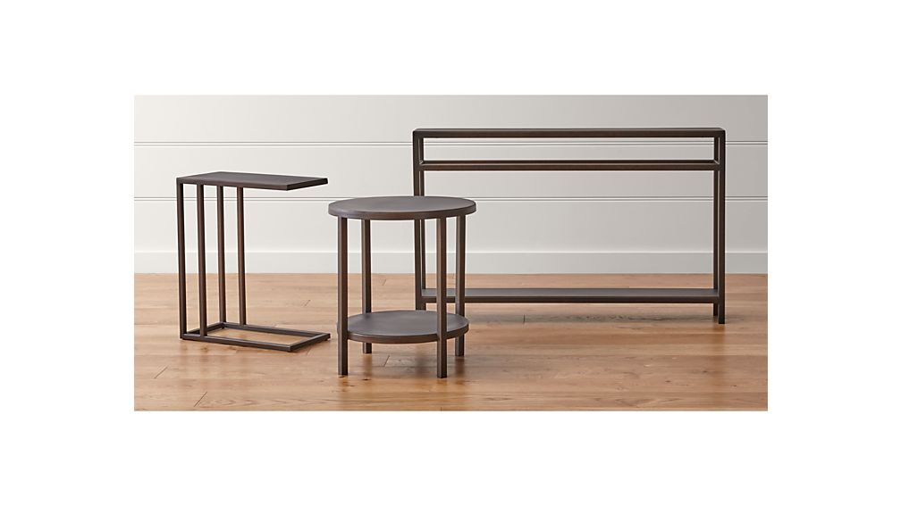 Echelon Console Table Crate And Barrel