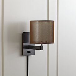 Eclipse Antiqued Bronze Wall Sconce