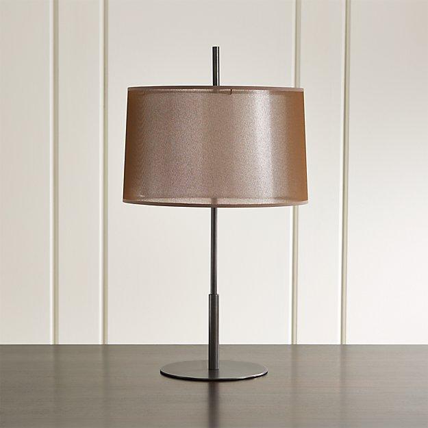 Eclipse Bronze Table Lamp