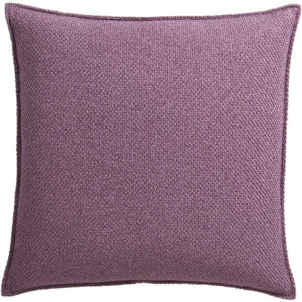 "Eclipse Amethyst 20"" Pillow"