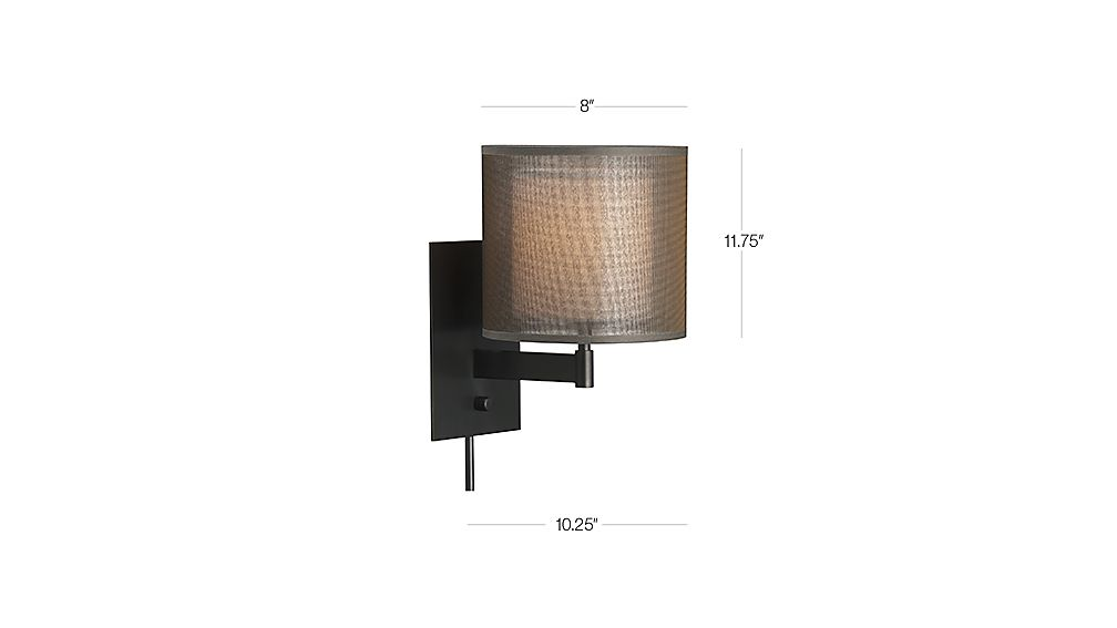 Crate and barrel sconce