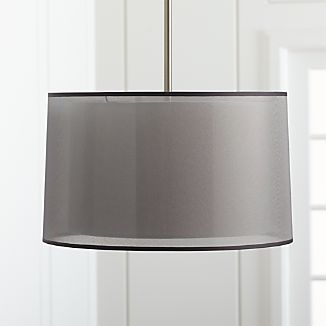 Eclipse Silver Pendant Light