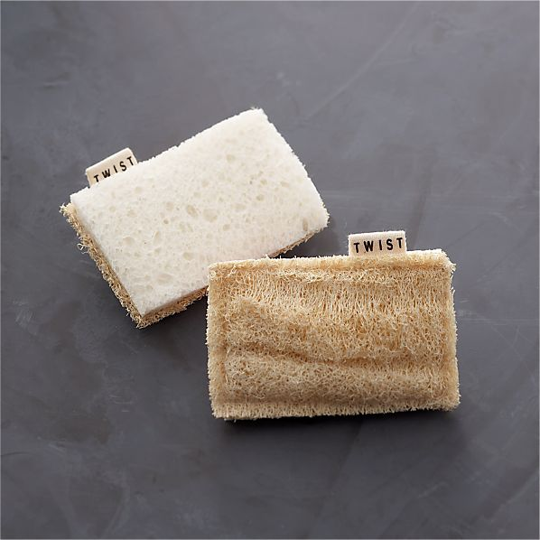 Set of 2 Eco Scrubber Sponges