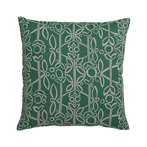"Edda 20"" Pillow with Down-Alternative Insert"
