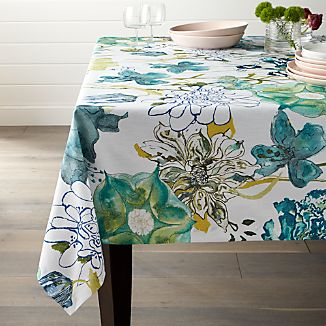 Eden Floral Tablecloth