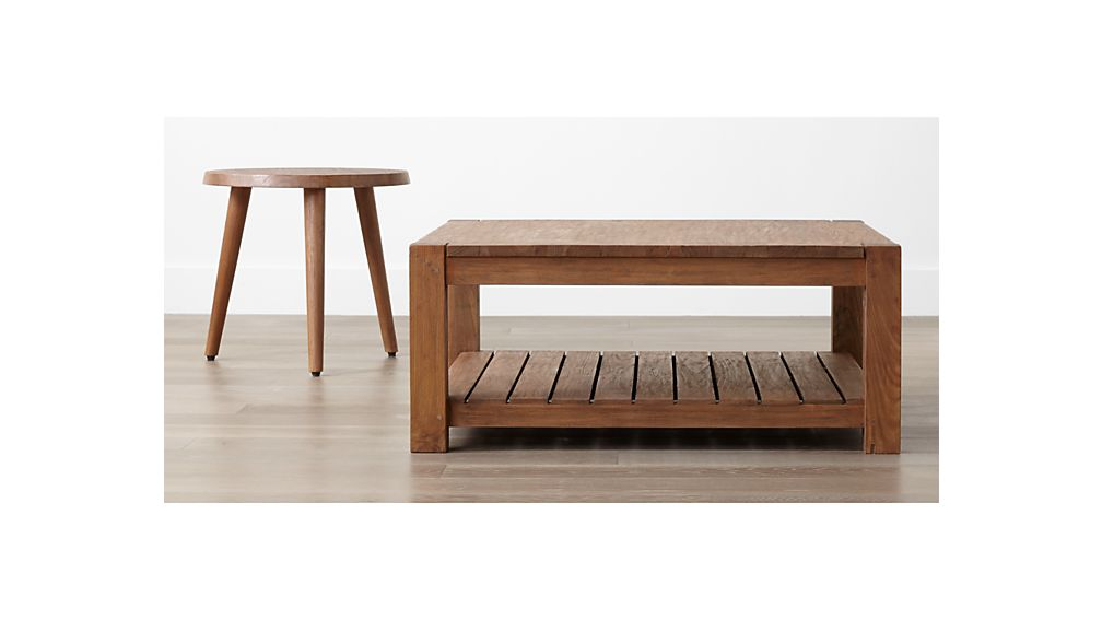 Edgewood Square Coffee Table Crate And Barrel