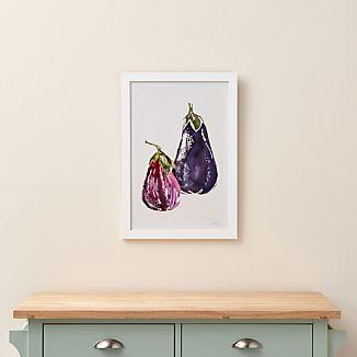 Eggplant Pair Print