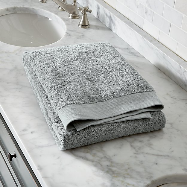 Egyptian Cotton Grey Bath Sheet