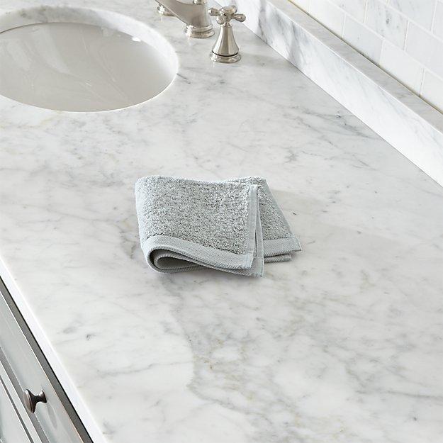 Egyptian Cotton Grey Washcloth