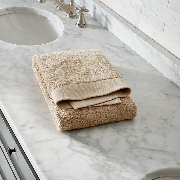 Egyptian Cotton Sand Tan Bath Towel