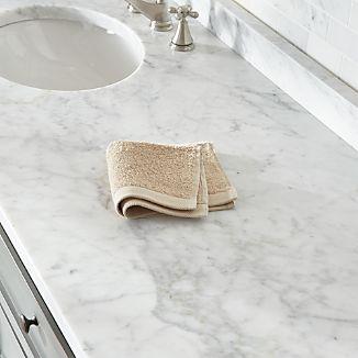 Egyptian Cotton Sand Tan Washcloth