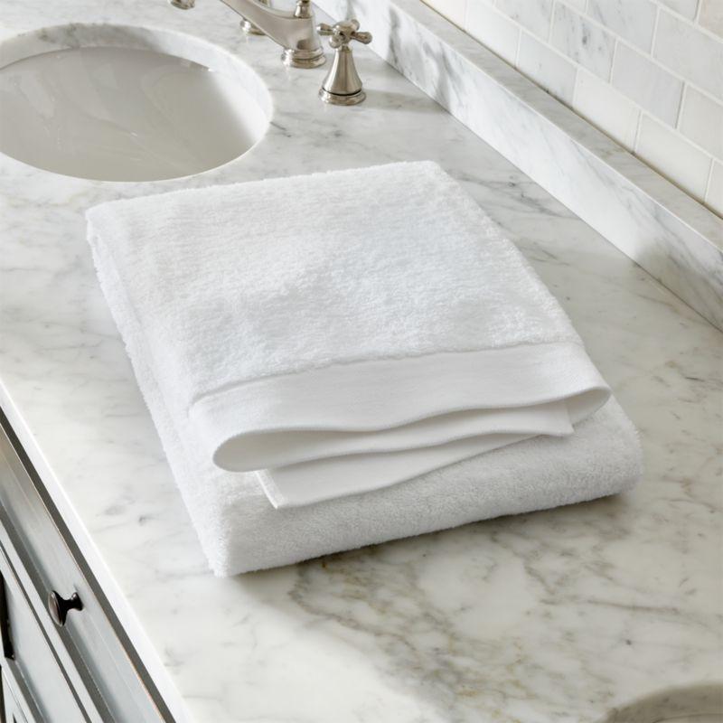 Egyptian Cotton White Bath Sheet