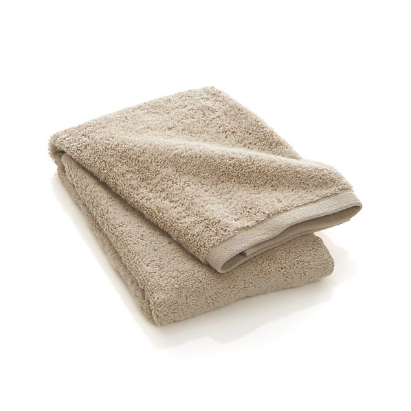 Sand Egyptian Cotton Hand Towel