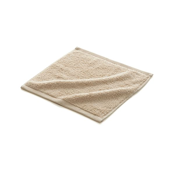 Sand Egyptian Cotton Washcloth