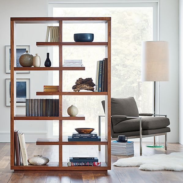 ElevateWalnut68BookcaseSF15