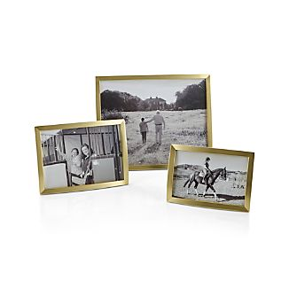 Eliza Brass Picture Frames