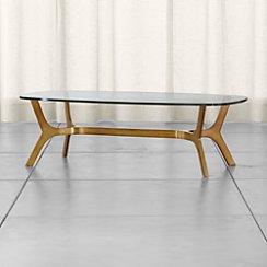 Elke Glass Coffee Table