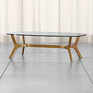 Elke Glass Coffee Table