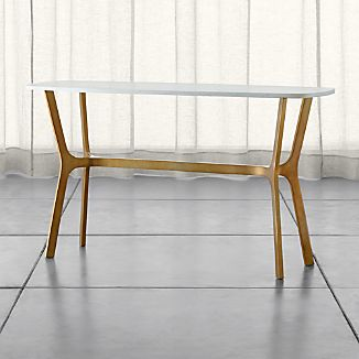 Elke Marble Console Table