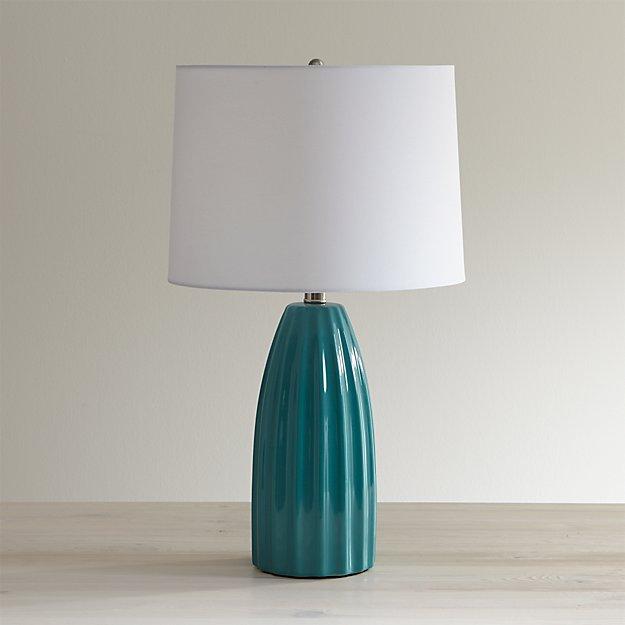 Ella Aqua Table Lamp