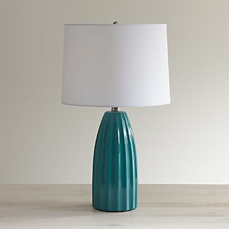 Ella Aqua Table Lamp