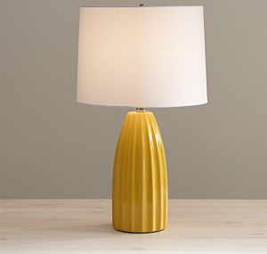 Ella Golden Yellow Table Lamp