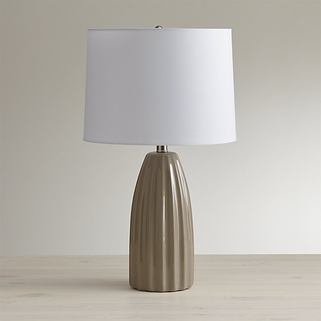 Ella Grey Table Lamp