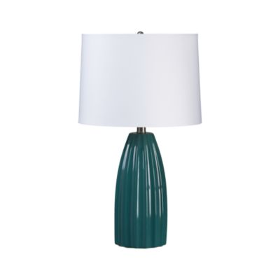 Ella Teal Table Lamp