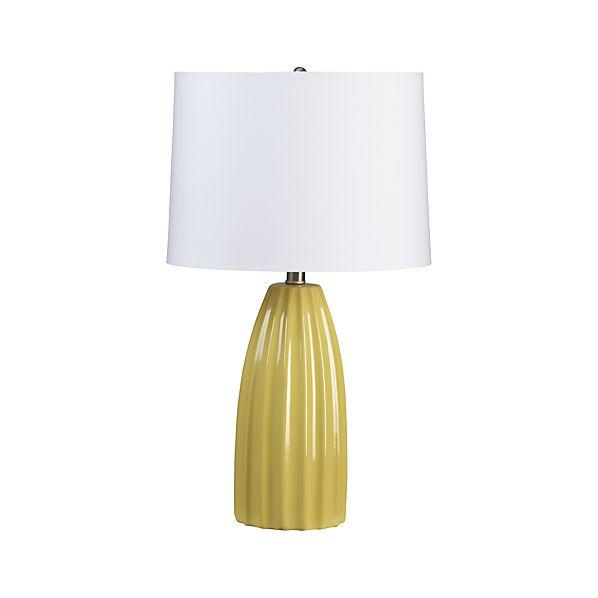 Ella Yellow Table Lamp