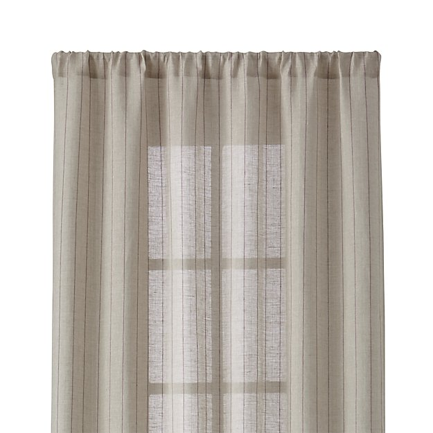 "Ellsbury Purple 48""x96"" Curtain Panel 