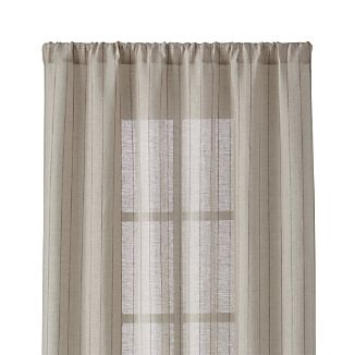 "Ellsbury Purple 48""x84"" Curtain Panel"