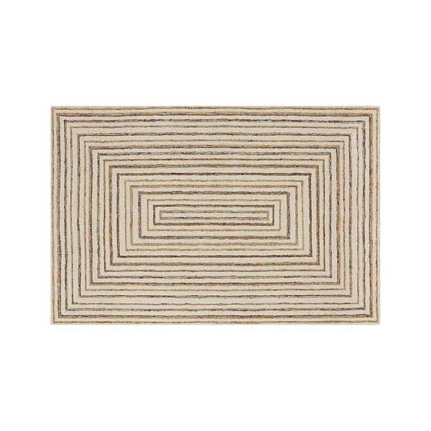 Ellwood Wool-Blend 6'x9' Rug