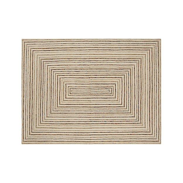 Ellwood Wool-Blend 9'x12' Rug