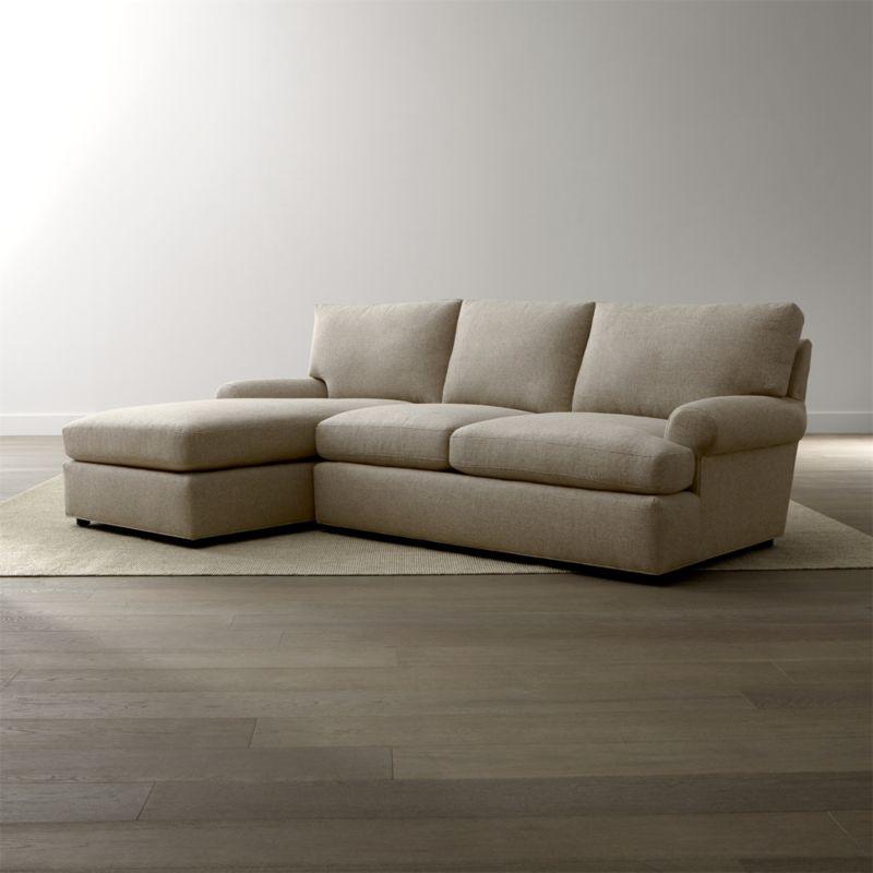 Ellyson 2-Piece Left Arm Chaise Sectional Sofa