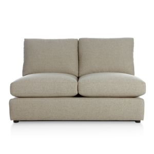 Ellyson Armless Sectional Loveseat