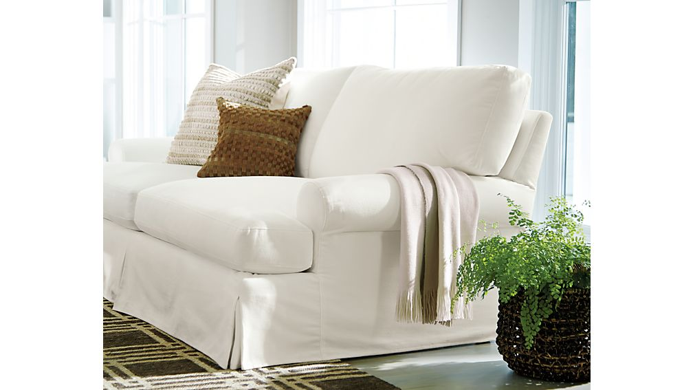 Ellyson Slipcovered Left Arm Corner Sofa