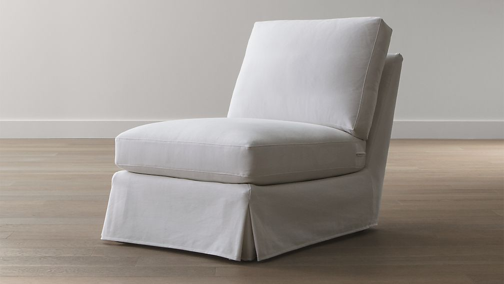 Slipcover Only For Ellyson Armless Chair California Optic