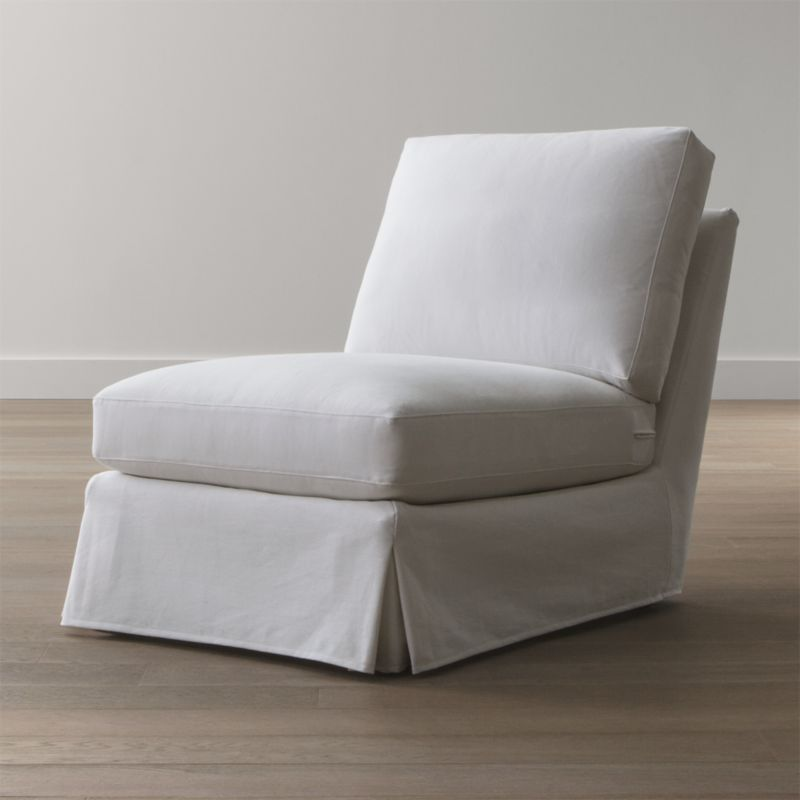 Slipcover Only for Ellyson Armless Chair
